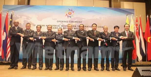 第十届东盟打击跨国犯罪部长级会议在马来西亚召开 hinh anh 1