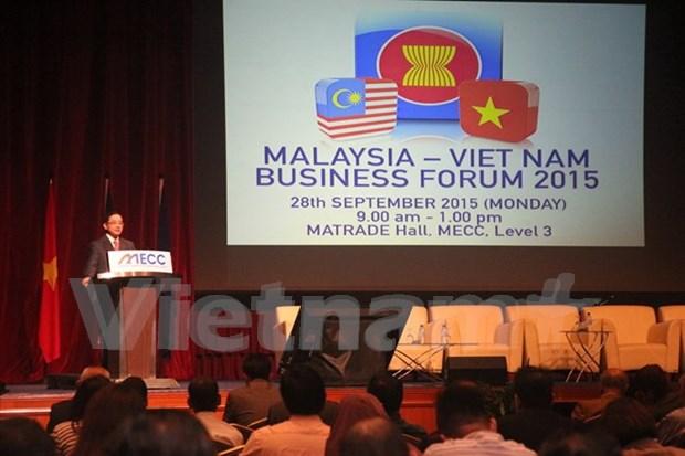 2015年马来西亚—越南企业论坛在吉隆坡举行 hinh anh 1