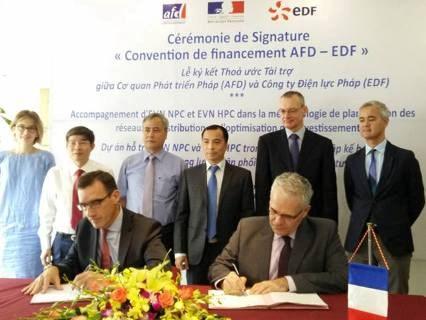 法国协助越南实施电网建设投资优化 hinh anh 1