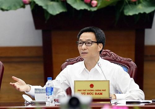 武德儋副总理:要制定优惠政策鼓励信息技术产业加速发展 hinh anh 1