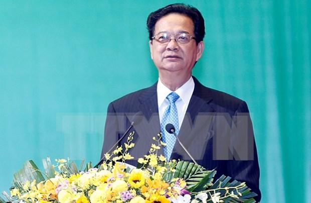 """越南政府总理:""""越南愿同国际社会一道努力,共同维护我们绿色的世界"""" hinh anh 1"""