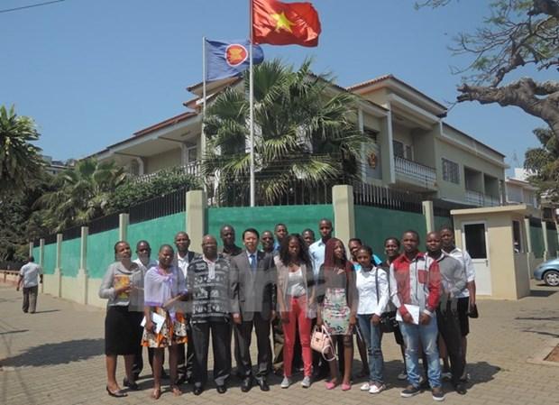 越南继续协助莫桑比克培训人力资源 hinh anh 1