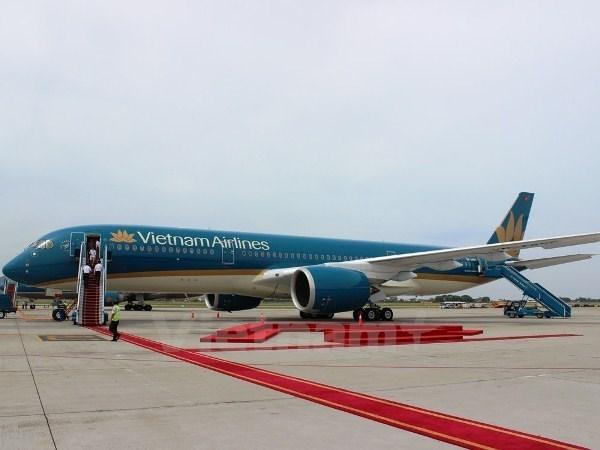 越航正式使用A350-900XWB宽体飞机执行国际航线 hinh anh 1