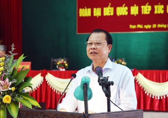 越南党和国家领导接触选民 hinh anh 3