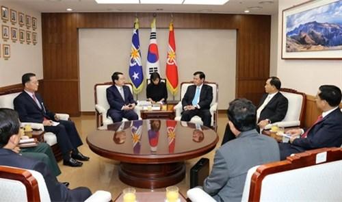 越韩两国加强合作寻找战争中牺牲和失踪军人 hinh anh 1