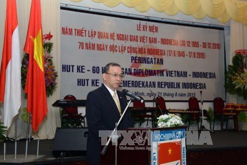 印尼国庆70周年暨越印建交60周年纪念典礼在河内举行 hinh anh 1