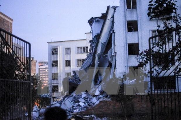 中国广西柳城发生连环邮包爆炸 泰国加强中国大使馆周边安保措施 hinh anh 1