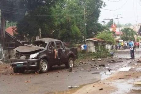 菲律宾南部爆炸致4人死亡 hinh anh 1