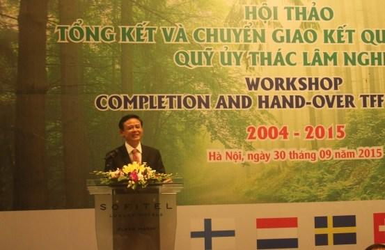 越南林业信托基金收到各组织提供的援助款项已达2890万欧元 hinh anh 1