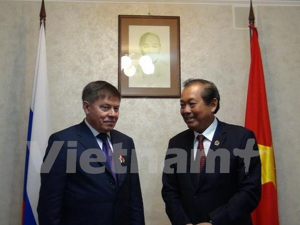 越南与俄罗斯最高法院加强合作 hinh anh 1