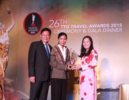 """越捷航空荣获""""2015年度亚洲最佳低成本航空公司""""大奖 hinh anh 1"""