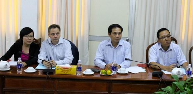 越南芹苴市与德国加强贸易交流 hinh anh 1