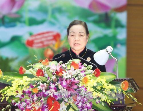 黎鸿英同志:继续提高民运工作的质量增强人民对党的信任 hinh anh 2