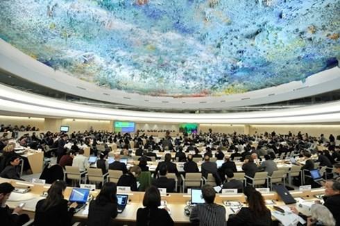 联合国人权理事会第30届会议闭幕 hinh anh 1