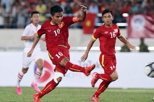 2016年亚洲U19青年足球锦标赛:越南U19足球队以5比0击败文莱U19足球队 hinh anh 1