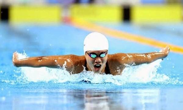 越南游泳运动员阮氏映圆荣膺两枚金牌 hinh anh 1