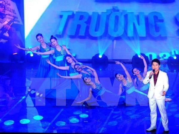 """""""心系家乡海洋海岛边界""""艺术交流晚会在胡志明市举行 hinh anh 1"""