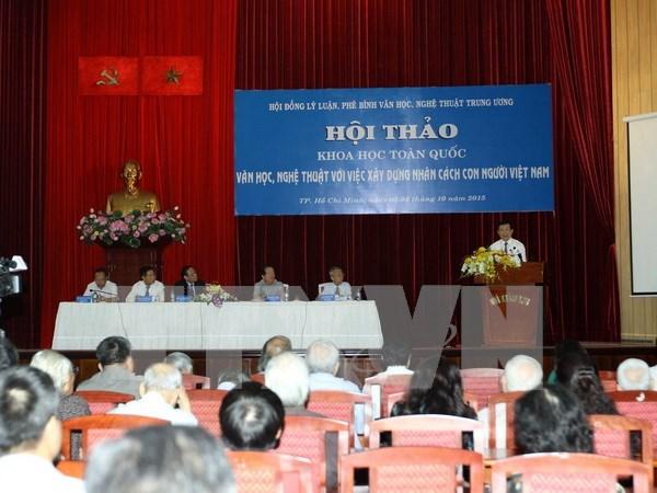 文学艺术与塑造越南人格 hinh anh 1