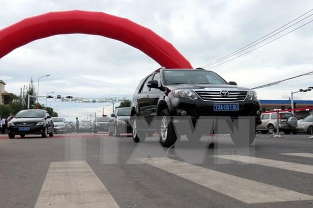 越南甲一号国道广平省路段扩建项目正式通车 hinh anh 1