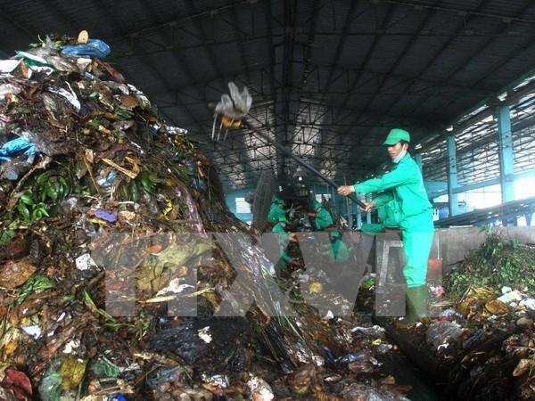 越南西北地区规模最大的垃圾处理回收厂正式落成 hinh anh 1