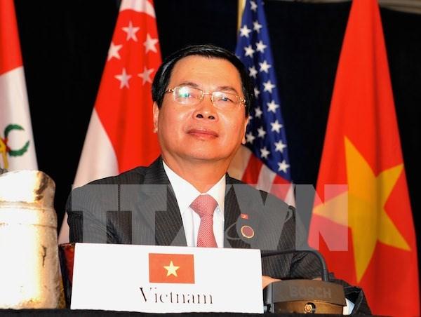 越南工商部长武辉煌:越南加入TPP 机遇与挑战并存 hinh anh 1
