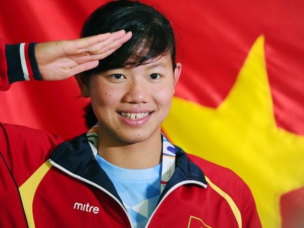 第六届世界军人运动会:越南游泳运动员阮氏映圆参加12个小项 hinh anh 1