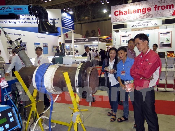 越南辅助工业系列国际展览会今日开展 hinh anh 1