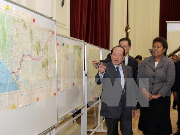 柬埔寨将公开与越南勘界的地图 hinh anh 1