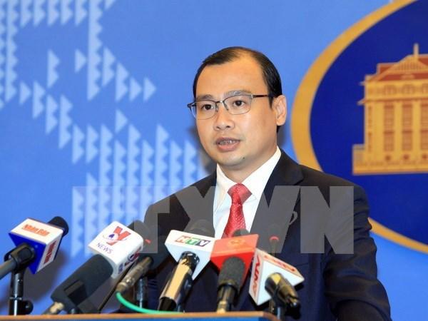 外交部发言人黎海平:越南努力保护旅外越南公民的生命安全及合法权益 hinh anh 1