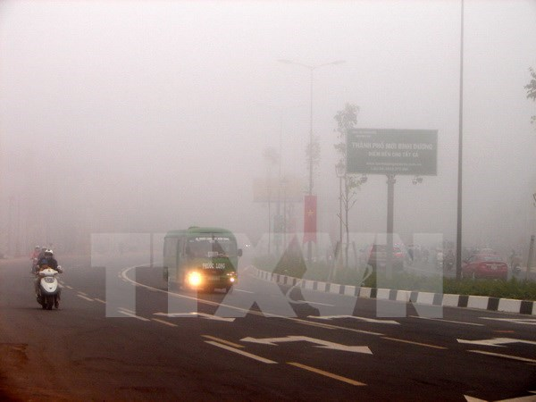 胡志明市雾霾现象可导呼吸道疾病患者增加 hinh anh 1