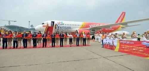 越捷航空公司开通越南胡志明市至缅甸仰光市直达航线 hinh anh 1