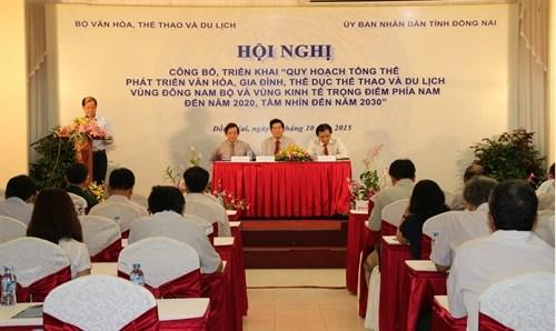 东南部地区文化体育旅游发展规划获批 hinh anh 1