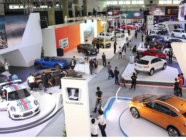 2015年越南国际汽车展正式开展 hinh anh 1