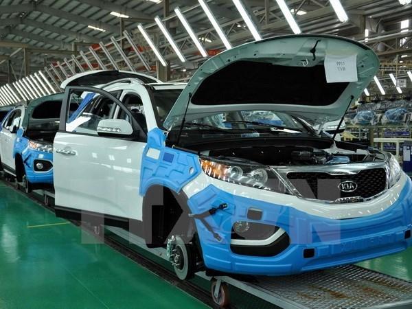 9月份越南汽车销售量环比增长17% hinh anh 1