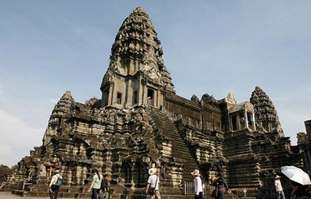赴柬埔寨旅游的国际游客量猛增 hinh anh 1