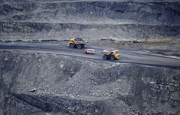 越南煤炭矿产工业集团力争实现煤炭生产量达3700万吨 hinh anh 1