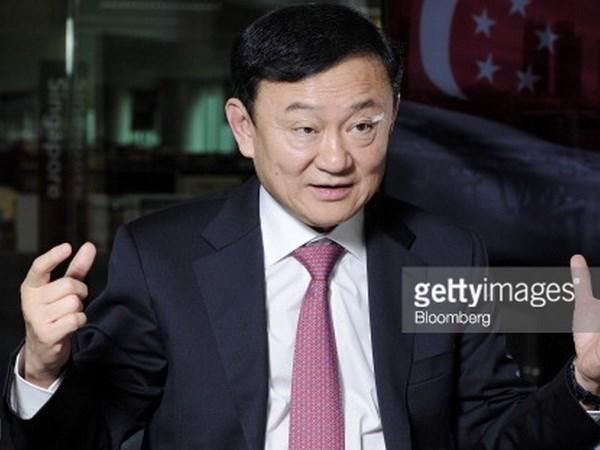泰国刑事法庭对前总理他信发逮捕令 hinh anh 1