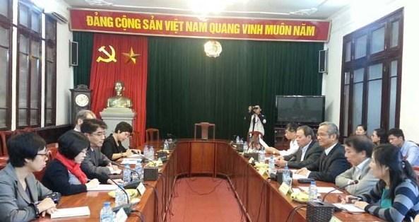 越南劳动总联会与国际劳工组织加强合作 hinh anh 1