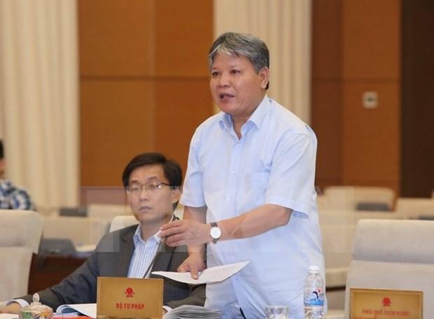 越南国会常委会第42次会议就加入《海牙送达公约》提出意见 hinh anh 1
