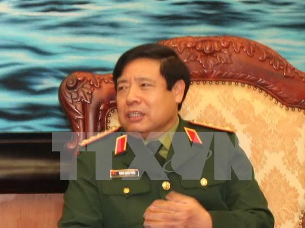 冯光青大将率团出席中国-东盟国防部长非正式会晤暨香山论坛 hinh anh 1