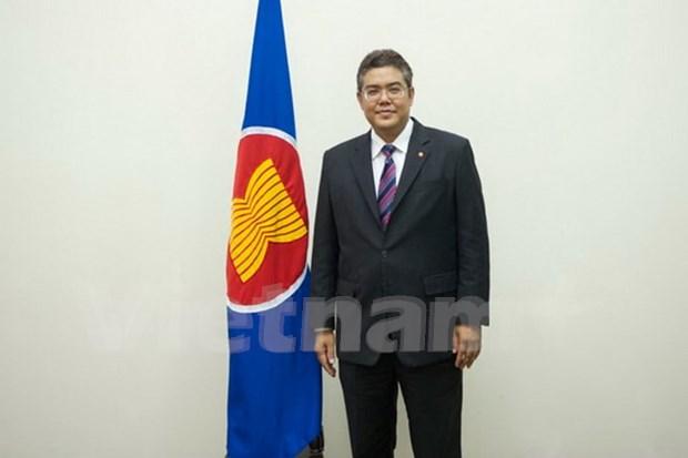 新任东盟主管社会文化共同体事务副秘书长宣誓就职 hinh anh 1