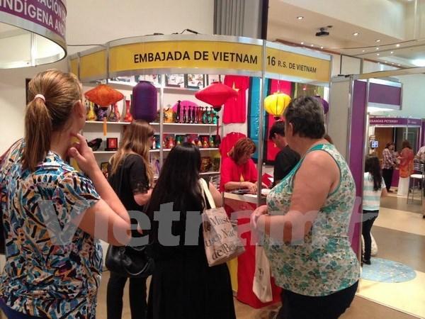 越南参加第5次南方共同市场手工艺品展览会 hinh anh 1