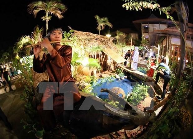 河内市将再现越南民族文化之美—乡村集市 hinh anh 1