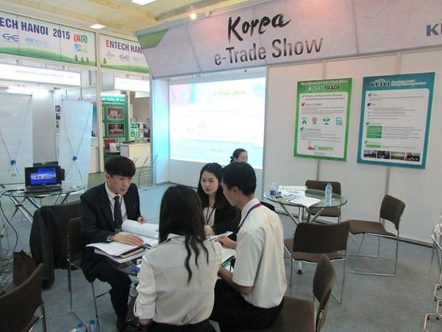 越韩自贸协定为两国企业经营合作打开机会大门 hinh anh 1