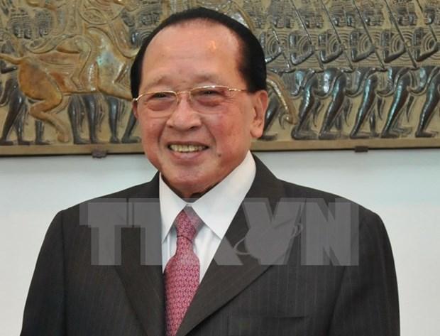韩国与柬埔寨加强合作关系 hinh anh 1