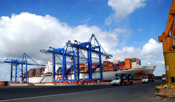 越南全国港口货物吞吐量逐年增加 hinh anh 1