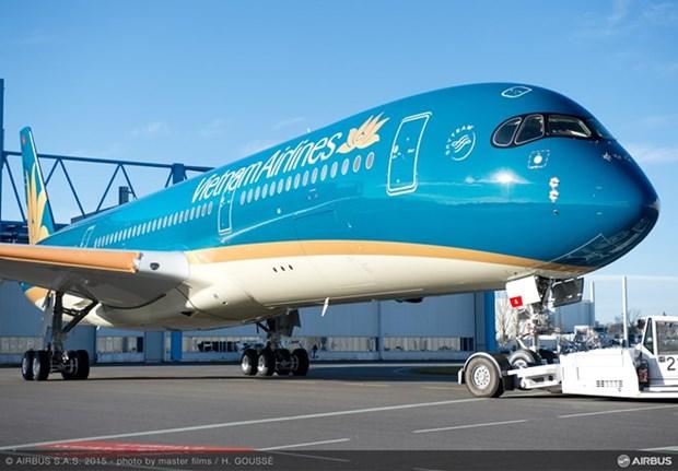 越航正式使用空客A350-900执飞河内至韩国首尔航线 hinh anh 1