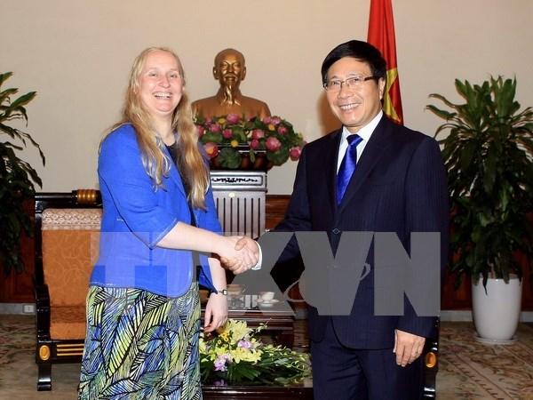 越南与新西兰加强多方面合作 hinh anh 1