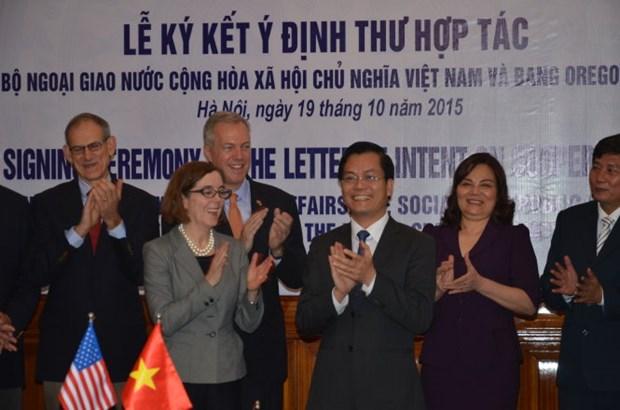 越南与美国俄勒冈州加强合作关系 hinh anh 1