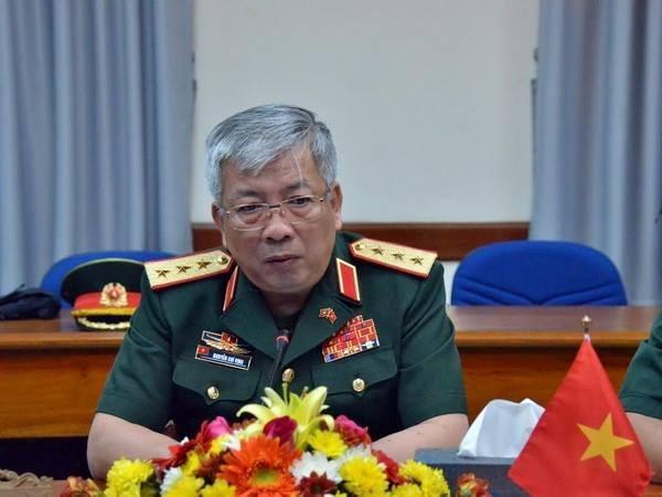 第一次越柬国防政策对话在柬举行 hinh anh 1